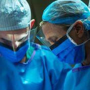 Dr. Elisa Port in the operation room