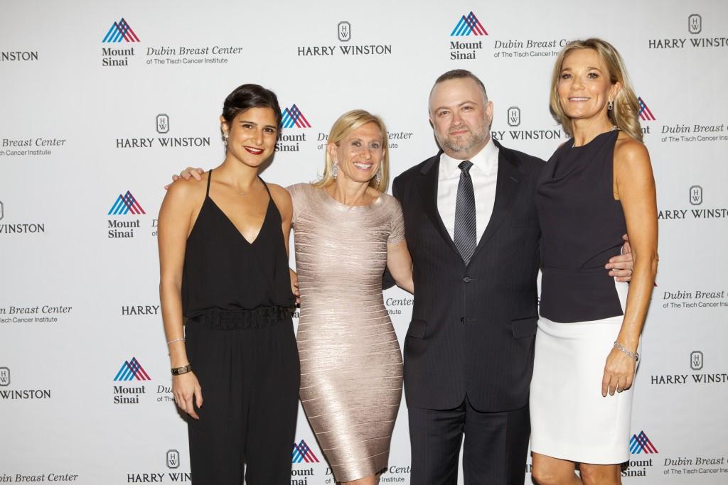Pictured (left to right): Chloe Moussazadeh, Dr. Elisa Port, Eric Gantwarg, Dr. Eva Andersson-Dubin